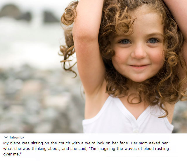 17 Of The Creepiest Things Kids Have Ever Told Their Parents