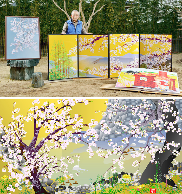 73-Year-Old Man Creates Magnificent Paintings Using Nothing But Excel