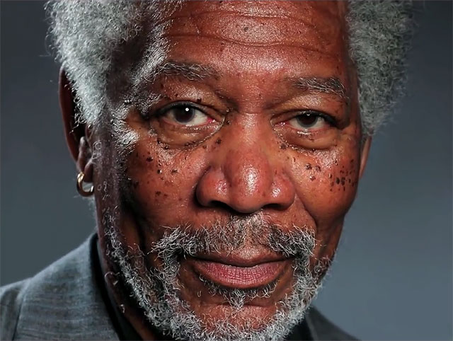 This Picture Of Morgan Freeman Is The Most Realistic Finger Painting Ever [VIDEO]