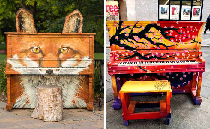 91 Beautiful Outdoor Pianos You Can Play All Around The World