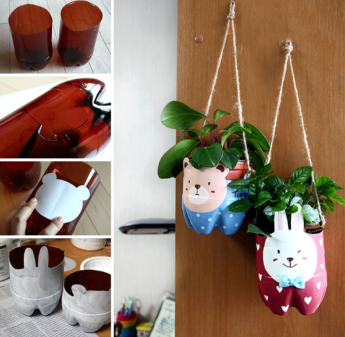 23 Creative Ways To Recycle Old Plastic Bottles Into DIY Crafts