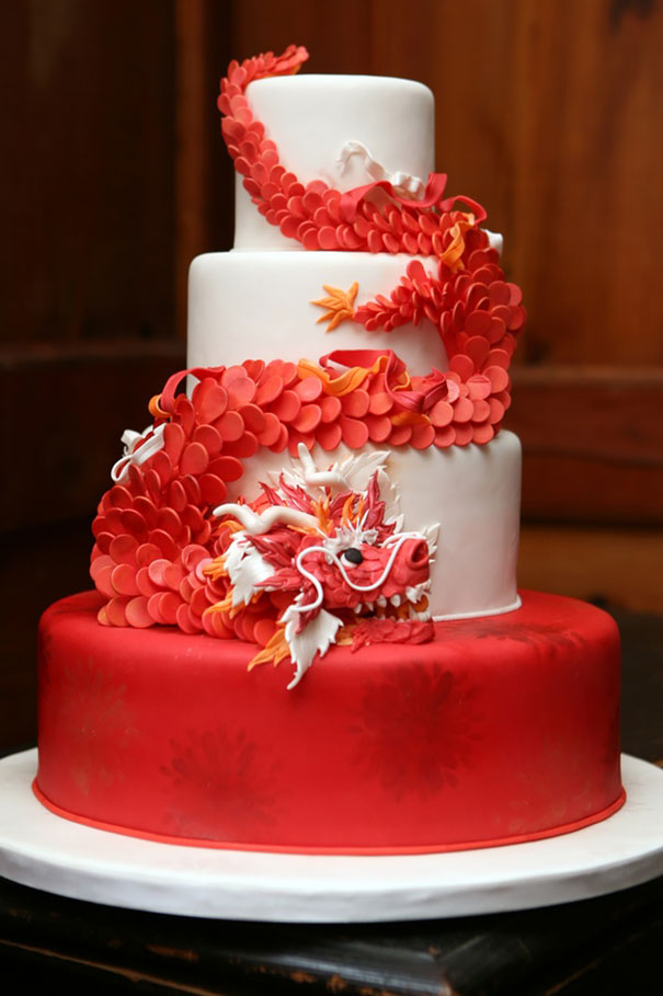 Red Dragon Cake