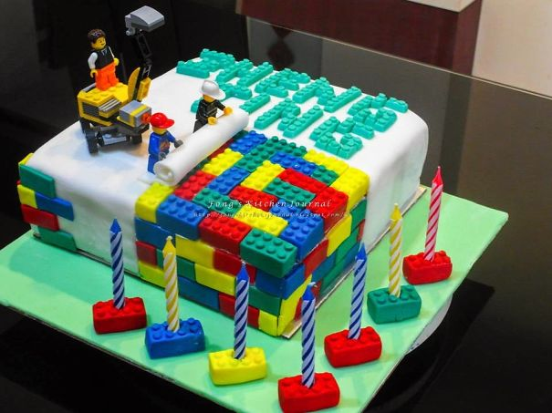 This Epic Lego Cake