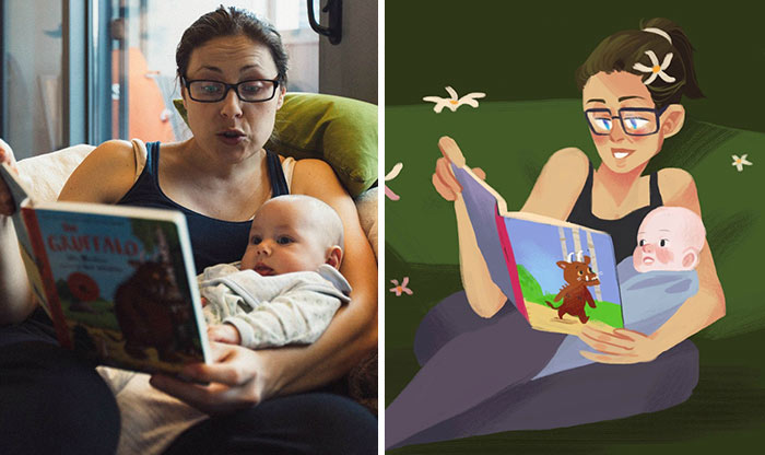 This Husband Hired 23 Artists To Make The Perfect Birthday Present For His Wife