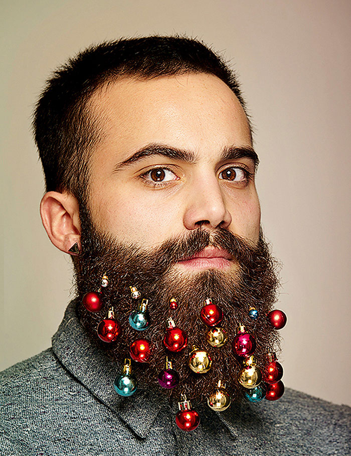 Beard Baubles Will Turn Your Beard Into A Christmas Tree
