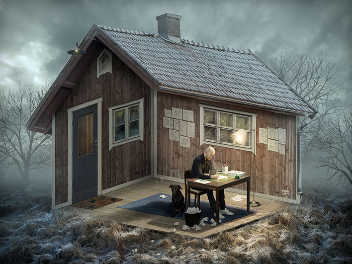 Mind-Bending Optical Illusions By Swedish Photoshop Master Erik Johansson