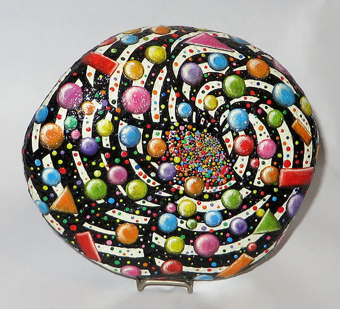 I Give Life To Stones By Painting On Them