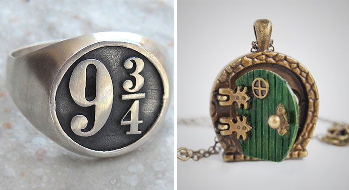103 Book-Inspired Pieces Of Jewelry For Bookworms