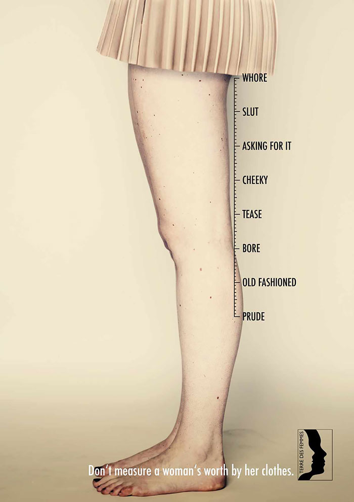 Don't Measure A Woman's Worth By Her Clothes