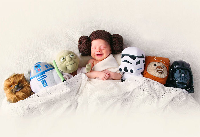 68 Geeky Newborns Who Are Following In Their Parents' Nerdy Footsteps