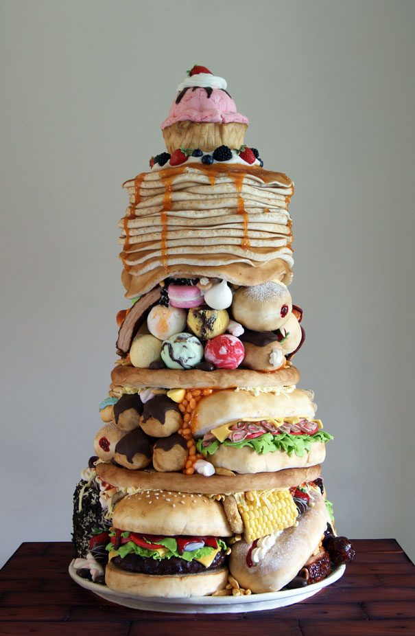 """""""The Big Eater"""" Cake"""