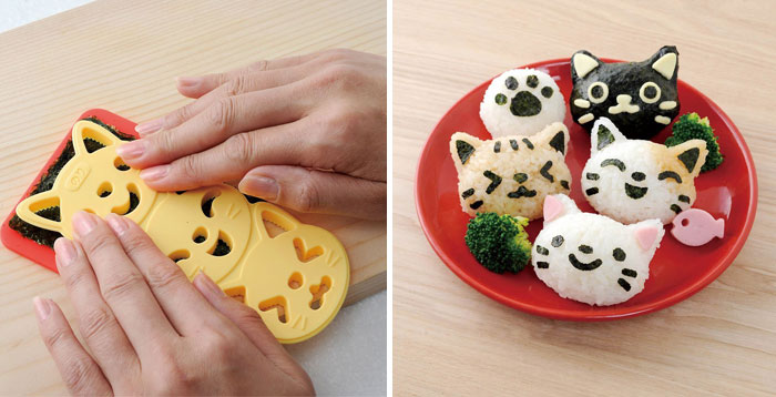 Turn Rice Balls Into Cute Kitties With This Purrfect Omusubi Kit
