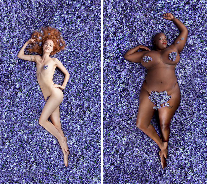 Photographer Challenges 'American Beauty' Standards With 14 Women Of All Shapes