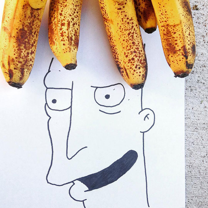 I Create Illustrations Using Everyday Objects (part 4)