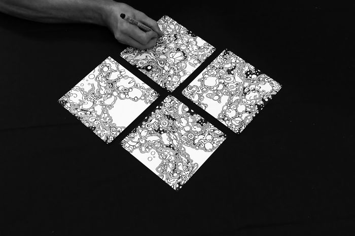 Watch These Four Simple Squares Come To Life