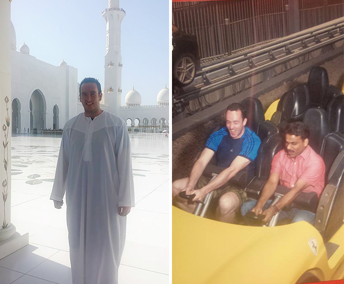 Guy Takes His Taxi Driver To Theme Park Because He's Never Visited One In His Life