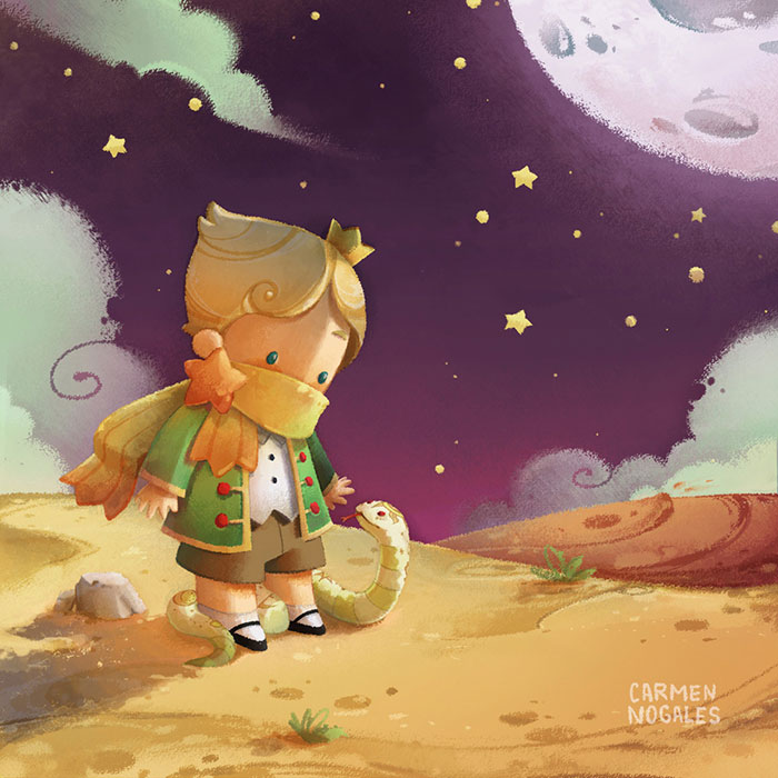 150 Artists Collaborate To Illustrate The Book Le Petit Prince