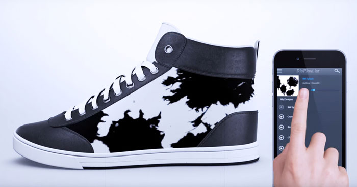 You Can Change The Color Of These Sneakers Instantly So You Wouldn't Wear The Same Shoes Twice