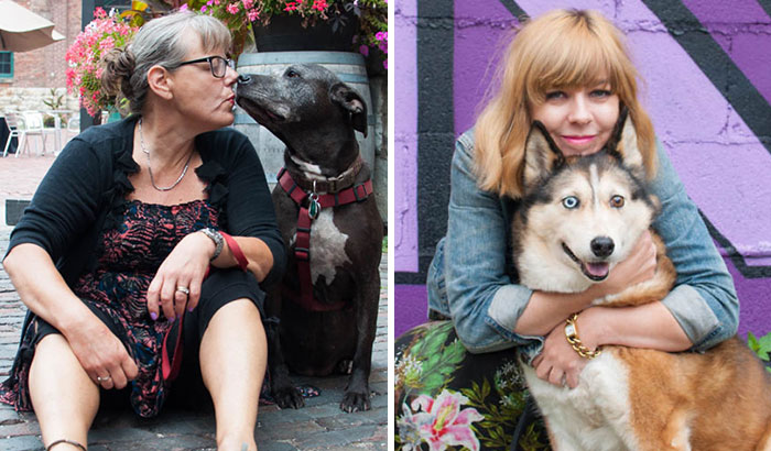 I Photographed Over 200 Families With Rescued Dogs To Inspire Others To Adopt