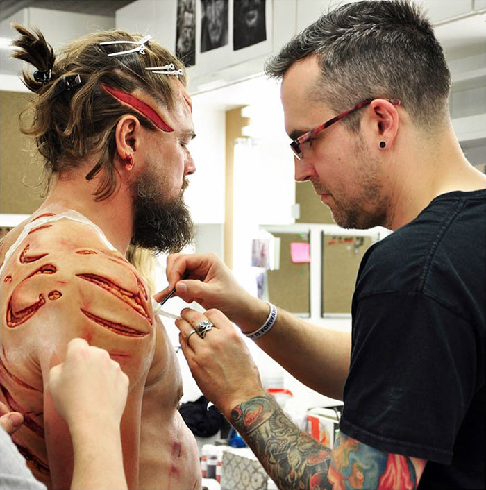 Leonardo DiCaprio Spends 5 Hours Getting Wounded For A Scene In The Revenant