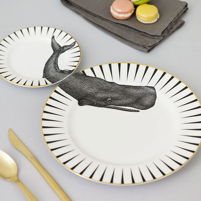 Matching Animal Plates That Need To Be Combined To See The Whole Picture