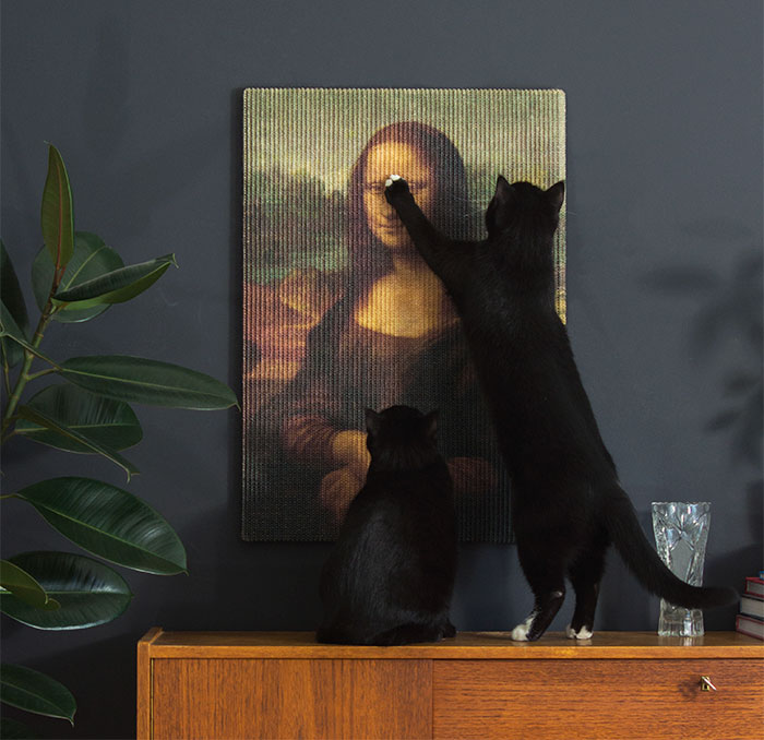 Cats Can Finally Destroy Priceless Artwork With These Masterpiece Scratching Posts