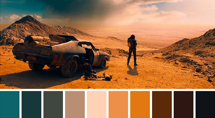 This Tweeter Posts Color Palettes From Famous Movie Scenes