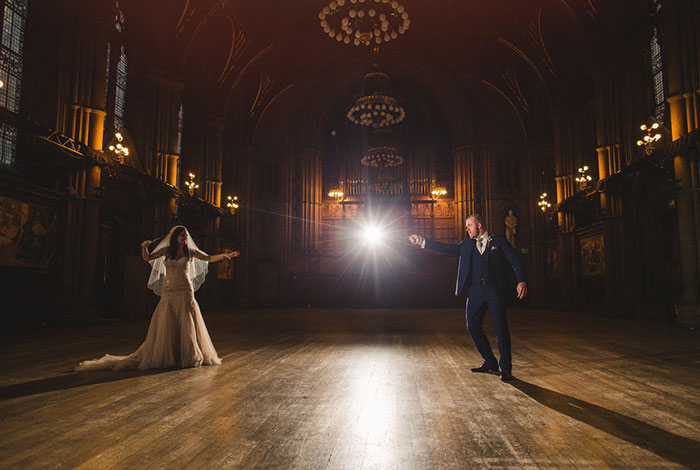 This Harry Potter Wedding Was Pure Magic