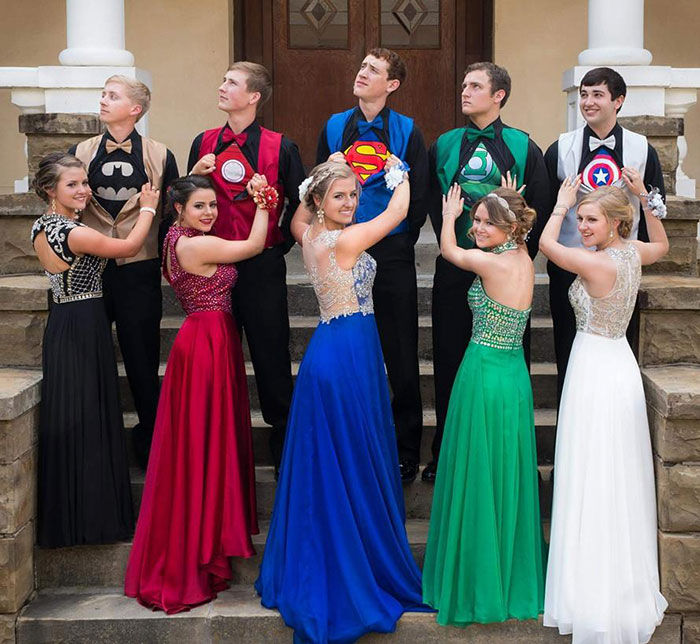 These Teens Secretly Wore Superhero Outfits To Prom