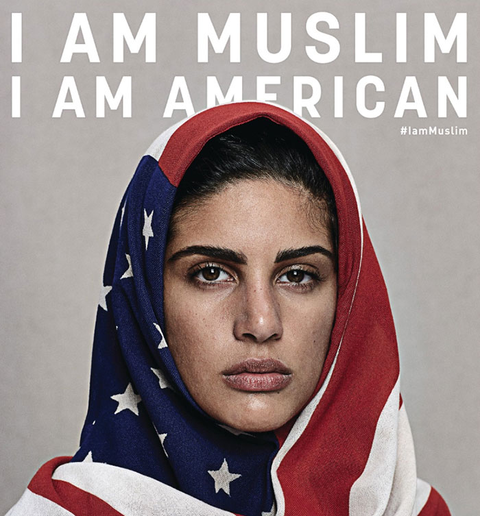 Images Confront People's Prejudices About Being A Muslim