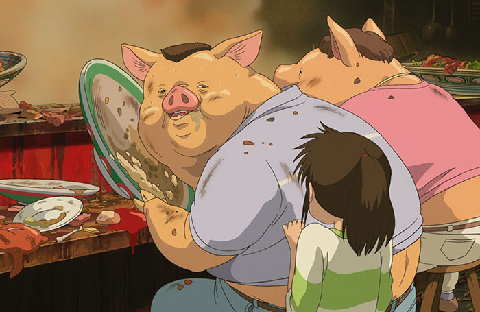 Studio Ghibli Finally Explained Why Chihiro's Parents Turned Into Pigs