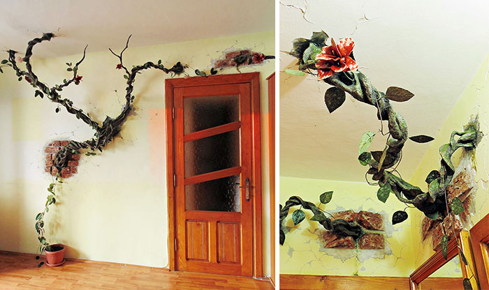 I 'Plant' Trees In People's Homes And Bring Animals To Life