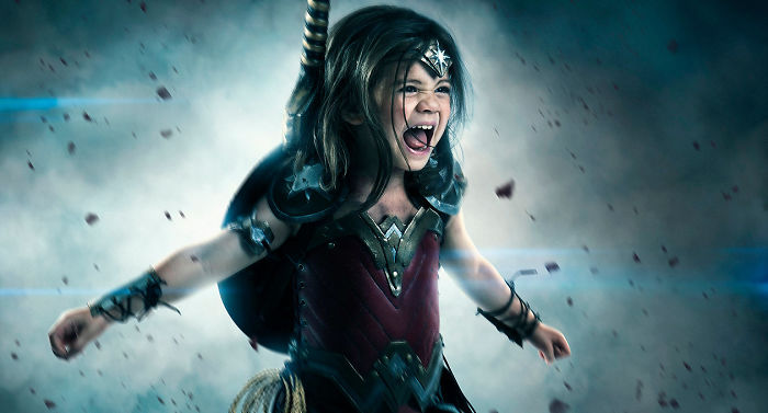 Photographer Dad Spends $1,500 To Turn His 3-Year-Old Daughter Into Wonder Woman