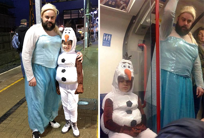 66 Dads & Daughters Who Won Halloween Together