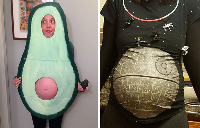 56 Of The Most Creative Halloween Costumes For Pregnant Women