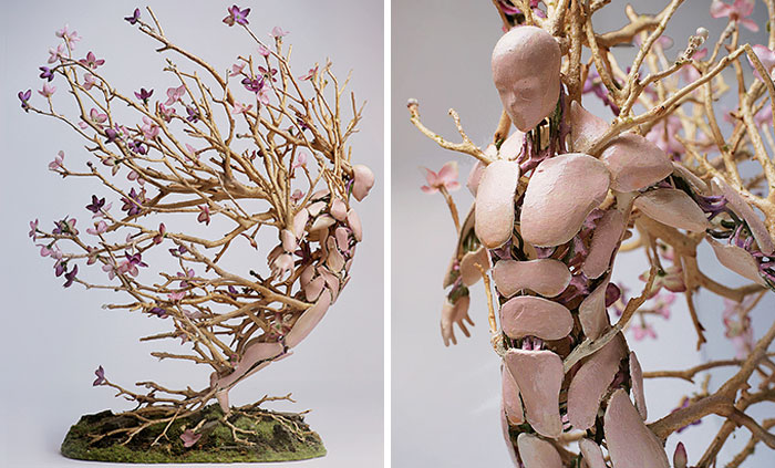 Sculptures By Garret Kane Capture Nature's Cycle And Its Fragile Beauty