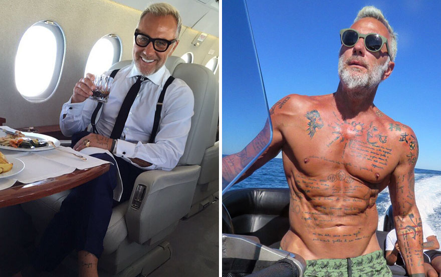 Gianluca Vacchi, 49 Years Old