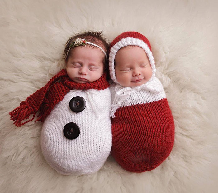 77 Babies Celebrating Their First Ever Christmas