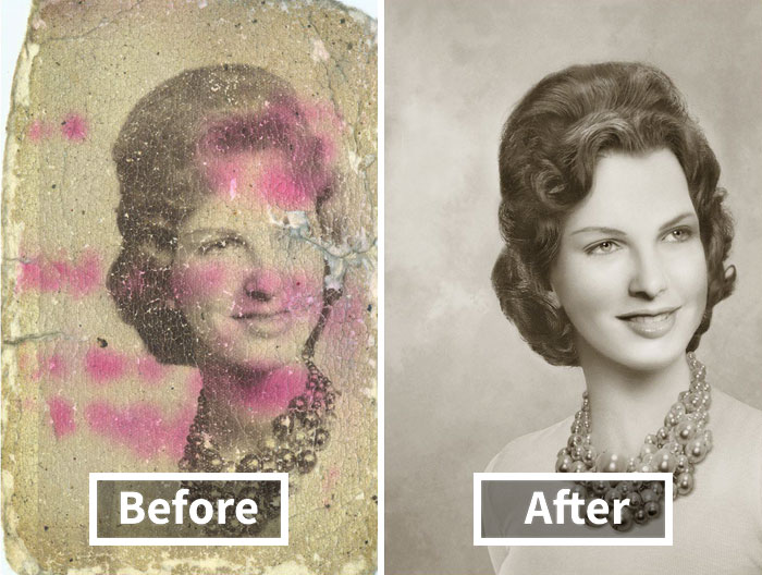 20 Incredible Photo Restorations That Will Totally Blow Your Mind