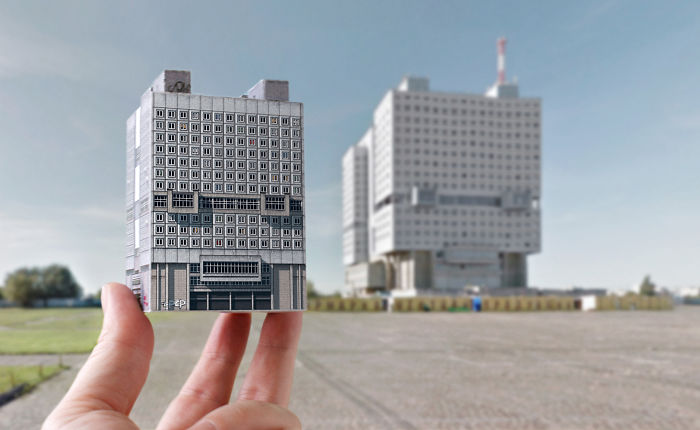 Brutal Charm Of Soviet Architecture That You Can Now Fold Out Of Paper