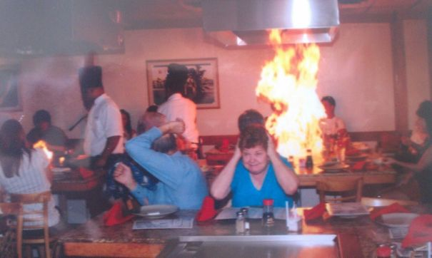 Grandparents' First Time At A Japanese Restaurant