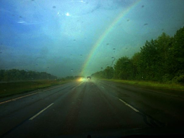 For The First Time In My Life I Saw The End Of A Rainbow