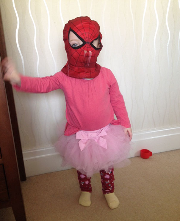 My Daughter Dressed Herself For The Very First Time