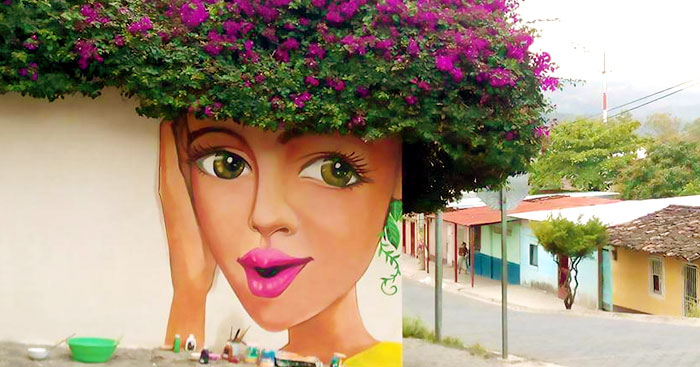 50 Amazing Street Art Installations That Cleverly Interact With Nature