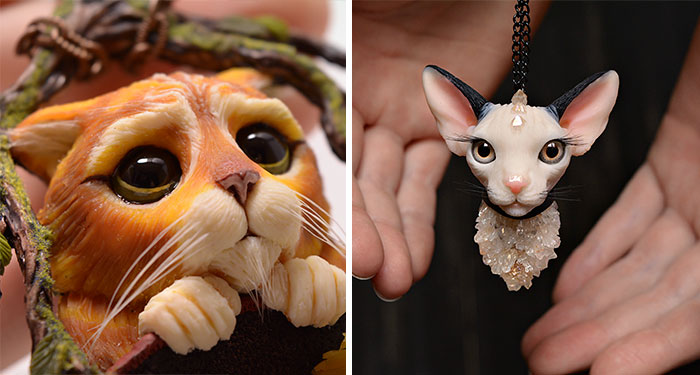 Magical Creature Jewelry Hand-Sculpted By Alina Sanina