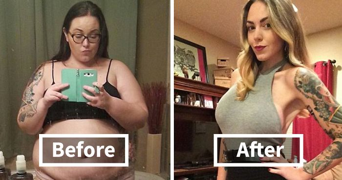 114 Incredible Before-And-After Weight Loss Pics You Won't Believe Show The Same Person