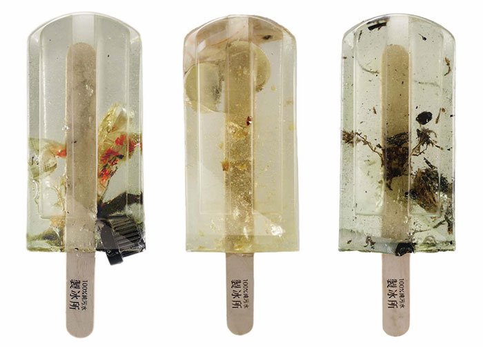 Popsicles Made From 100 Different Polluted Water Sources Grab World's Attention