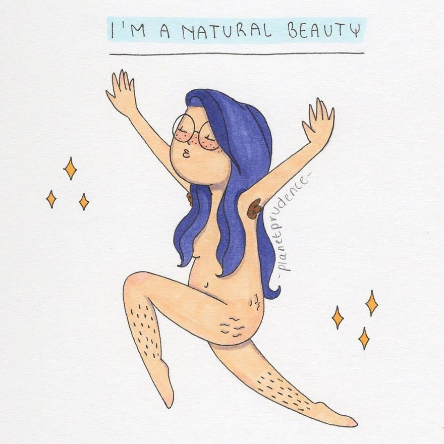 We Are All Natural Beauties! Tag Someone Who Needs To See This And/or Repost This Drawing And Tag Me In It To Spread Some Body Positivity ✨
