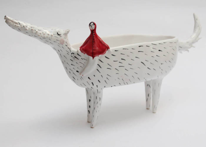 I Create Whimsical Bowls From Porcelain