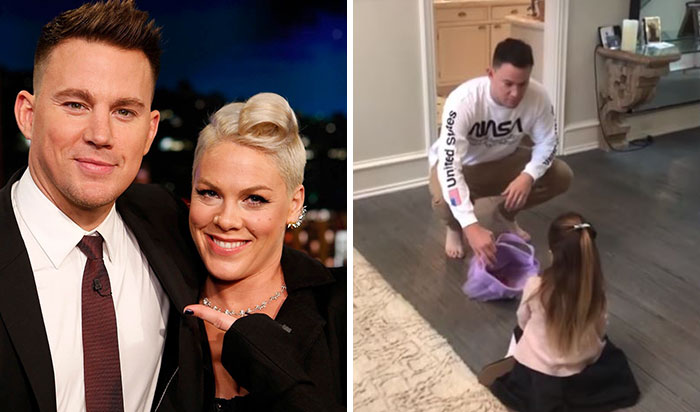 When Channing Tatum And Pink Told Their Children They Ate All Their Halloween Candy They Got Totally Different Reactions